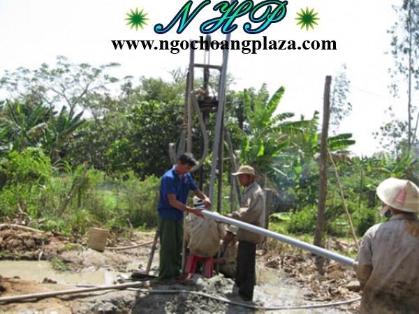 Dịch vụ khoan giếng tại biên hòa