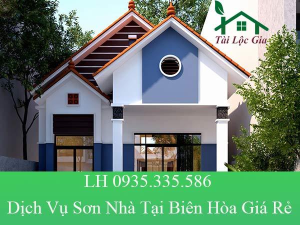 Dịch vụ sơn nhà tại Biên Hòa giá rẻ