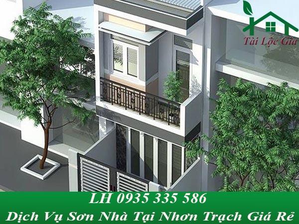 Dịch vụ sơn nhà tại Nhơn Trạch giá rẻ