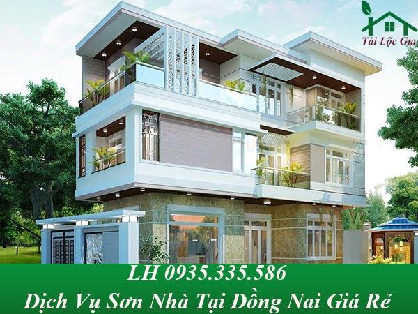 Dịch vụ sơn nhà tại đồng nai giá rẻ